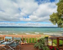 Beautifully Decorated Waterfront Home With Great Views