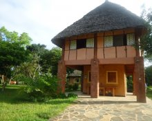 Front view of Diani Beach Kenya cottage for self catering acommodation